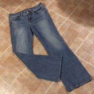 American Eagle original boot cut jeans size 14
